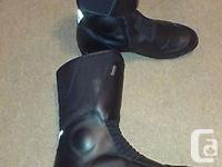 These boots fit small. Size 48 UK sizing. Fits on the