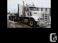 2010 Peterbilt Tri Drive 367 30 tonne integrated tulsa