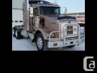 NEW 2013 Kenworth T800 485HP Cummins ISX with 2yr