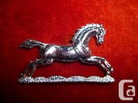 The third King's Own Hussars Collar Badge - Staybrite