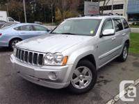 2006. Jeep. Grand Cherokee. Overland. Auto