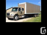 2004 Freightliner M2 Business Class with Bunk. one