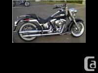 2008 Harley Davidson FLSTN Softail Deluxe. Never