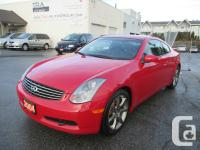2004 Infiniti G35 two Door Coupe 3.5L V6 Engine 6 Gear