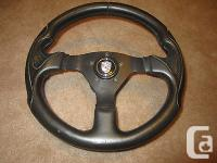 Porsche 924/944 Grant steering wheel w/hub and Porsche