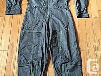 RARE VINTAGE US AIR FORCE K-2B FLIGHT SUIT 1969 VIETNAM