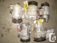 06 07 08 09 10 11 12 Toyota Yaris A/C Compressor 80K