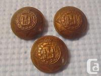 Lot of three vintage, original East Surrey Regiment
