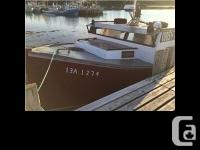 1987 Custom. Built Deshamp And Jackson Lobster Boat.