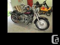 2007 Harley Davidson FLSTF Softail Fat Boy 2007 Harley