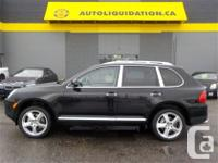 2005 PORSCHE CAYENNE S AWD ...THIS LOCAL BC UNIT WITH