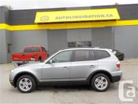 2007 BMW X3 3.0I ...THIS LOCAL BC UNIT WITH NO