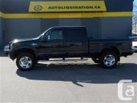2007 FORD F350 CREW CAB HARLEY DAVIDSON...THIS LOCAL BC