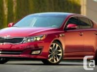 2014 Kia Optima LX w/Panoramic SunroofThis is a local
