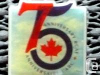 Royal Canadian Air Force RCAF 75 yr Anniversary Pin
