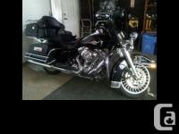 2009 Harley-Davidson FLHTC Electra Glide Classic.