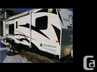 2010 Forest River WolfPack M27DFWP Toy Hauler Length 27