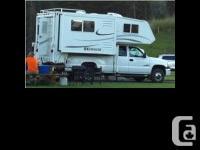 2005 Okanagan M. 96DB Truck Camper. Immaculate shape