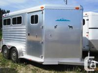 THIS TRAILER IS LIKE NEW!!! Floor length - 14', Width -