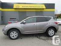 2011 NISSAN MURANO SL AWD...THIS LOCAL BC UNIT WITH NO