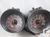 Lot of two Rare Vintage 701 Jonan Tachometer Rat Rod