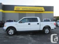 2013 FORD F150 CREW CAB four wheel-drive...THIS LOCAL