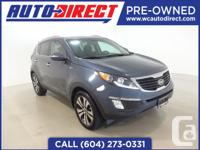 This gorgeous 2012 Kia Sportage comes equipped with a