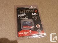 Hard to find 1GB SanDisk CF CompactFlash memory Type 1,