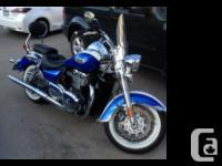 2014 Triumph Thunderbird 1491mis 1500cc Saddle bags