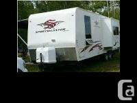 2008 Extreme Sportsmaster Trailer. Living area area