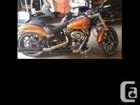 2014 Harley Davidson FXSB Breakout 806 mis 1460cc