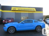 2010 FORD MUSTANG GT ...THIS LOCAL BC UNIT IS EQUIPPED