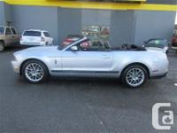 2012 FORD MUSTANG V6 CONVERTIBLE PREMIUM...THIS LOCAL
