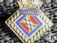 HMCS Sackville Pin ~ Royal Canadian Navy Size