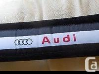 3 sets / pairs Seat Belt Pads - Audi This is a lot of