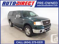 Drives like new ! This 2008 Ford F-150 Lariat is loaded