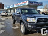 WHAT A GEM 2008 TACOMA WITH ONLY 126701 kilometerS AND