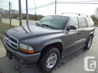 2002 DODGE DURANGO SLT AUTOMATIC 4X4 POWER GROUP AIR