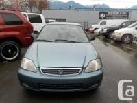1999 HONDA CIVIC 4 DOOR AUTO AIRCONDITION ONLY 163.000