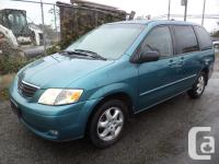 2000 MAZDA MPV LX AUTOMATIC AIR CONDITIONED POWER GROUP