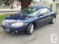 2002 CHRYSLER SEBRING LIMITED EDITION AUTOMATIC AIR