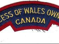 A Canadian Princess of Wales Own Regiment battle dress