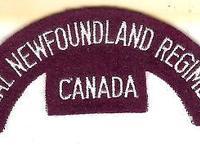A Canadian Royal Newfoundland Regiment battle dress