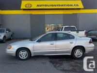 2005 PONTIAC GRAND AM ...THIS LOCAL BC UNIT IS EQUIPPED