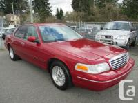 1998 Ford Crown Victoria four door Sedan LX 4 Door