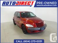 This beautiful Chrysler PT Cruiser is in pristine