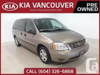 2005 Ford Freestar SWith seven seats this Ford Freestar