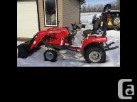 2014 Massey Ferguson GC1705 22 horsepower engine 18.7
