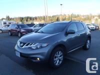 2014 Nissan Murano S AWD. 3.5L. six cyl. four door.
