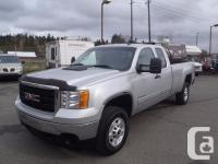 2011 GMC Sierra2500HDSLE Ext. Cab Long Box four